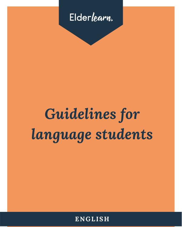 Elderlearn Guidelines Engelsk