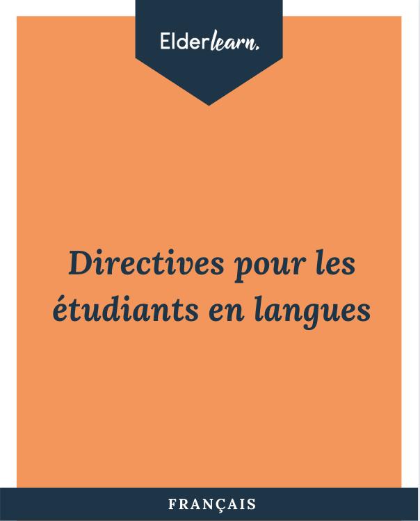 Elderlearn Guidelines Fransk