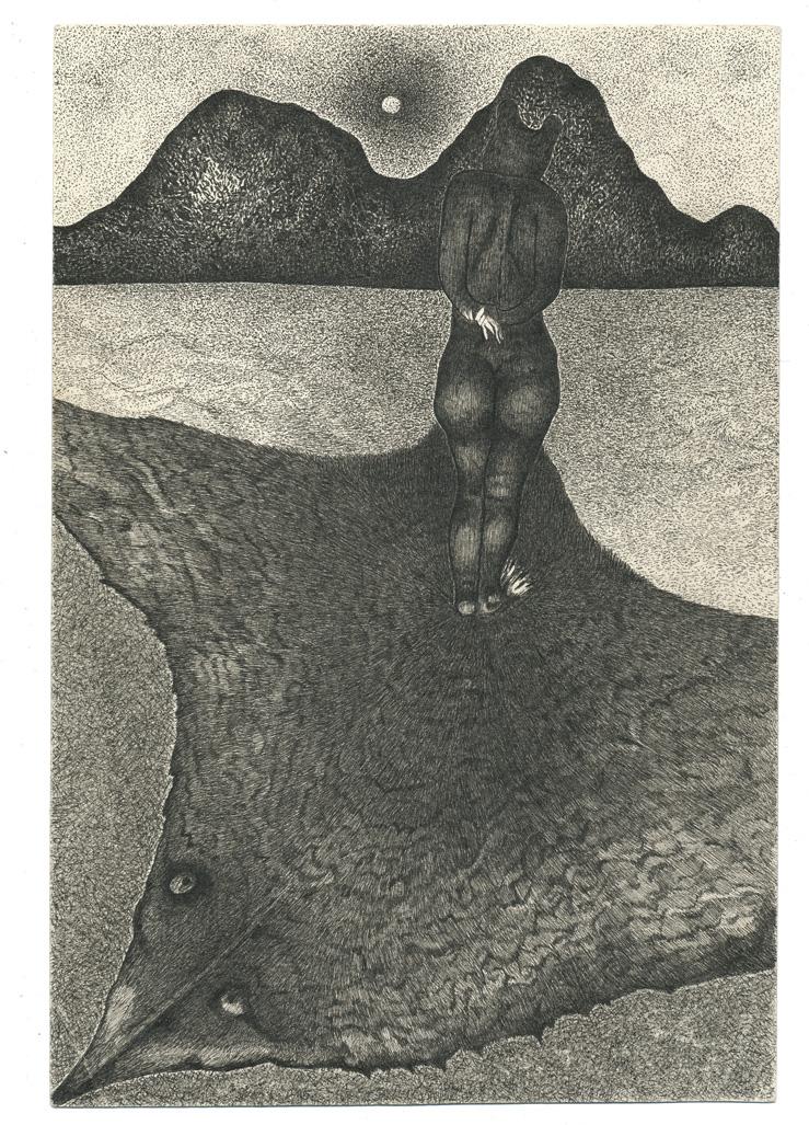 Bear With Mountain