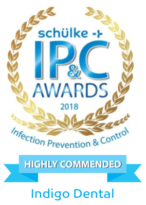 Highly Commended - Indigo Dental has been Highly Commended in the Schulke Infection Prevention and Control Awards 2018!Great result for our team who work tirelessly hard to ensure the highest possible standards for our patients.