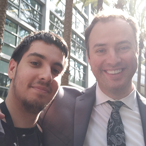 ioStux and Day9, Starcraft legend and highly praised e-sports commentator
