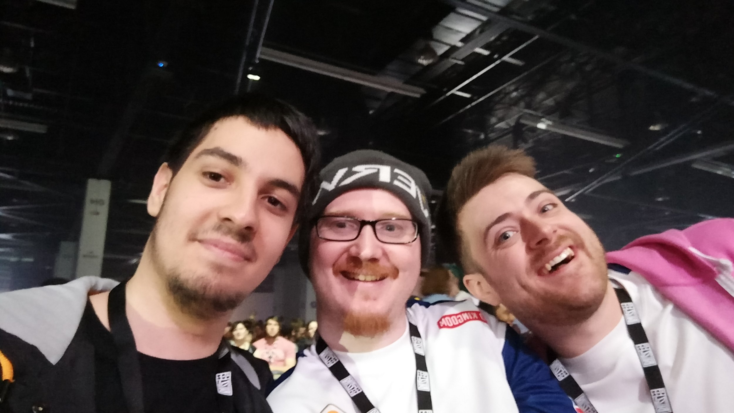ioStux, OneAmongstMany (Talented Overwatch Analyst and Caster/Coach), Stylosa/Unitlost (British Overwatch Content Creator covering E-Sports, Game and Community Updates, works with the London Spitfires OWL Team)