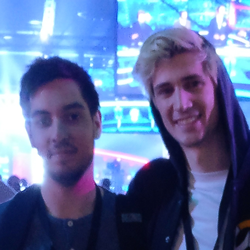 "ioStux and the myth, the man, the legend, former Dallas Fuel ""XQC"", known as the best Main Tank Player in NA"