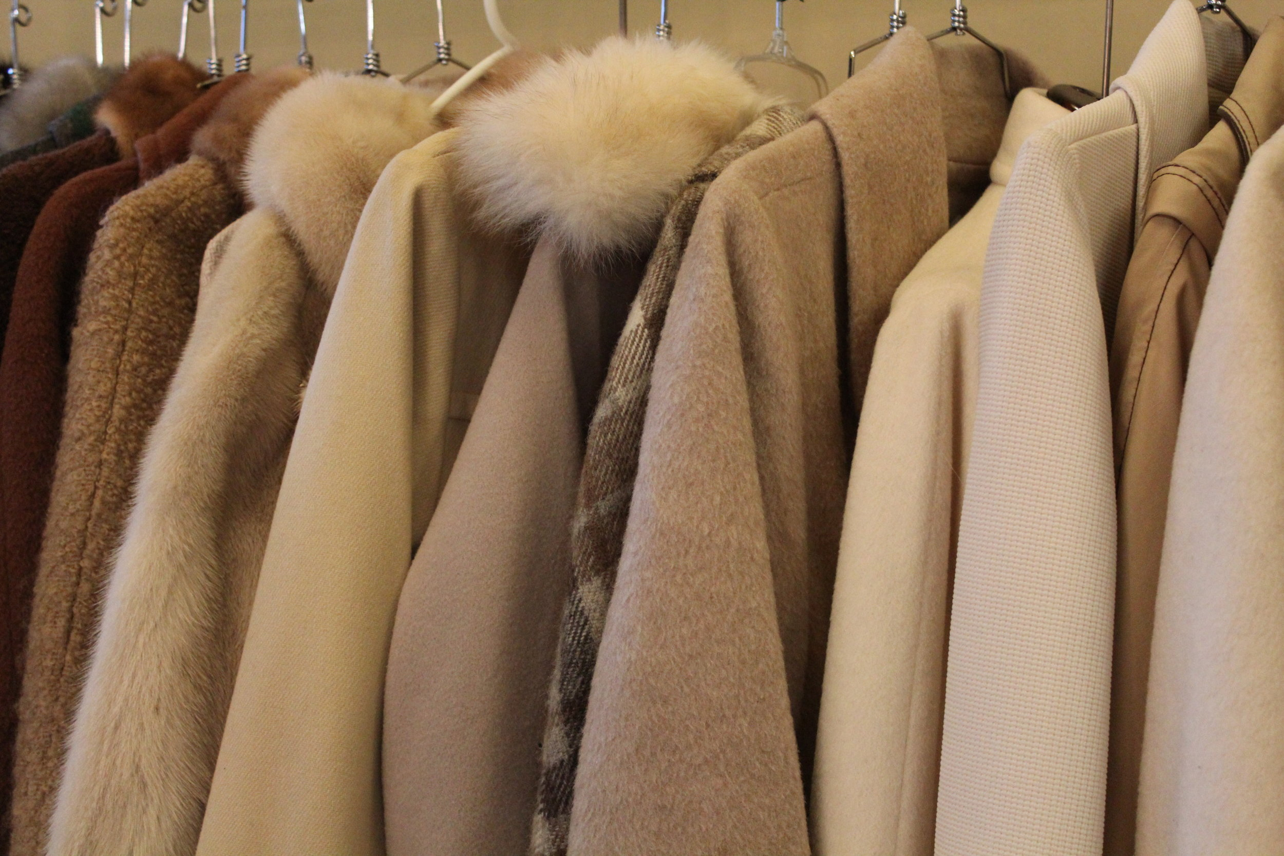 Vintage Shearling Coats