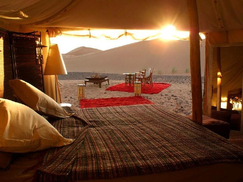 A NIGHT IN A DESERT BIVOUAC - MOROCCO