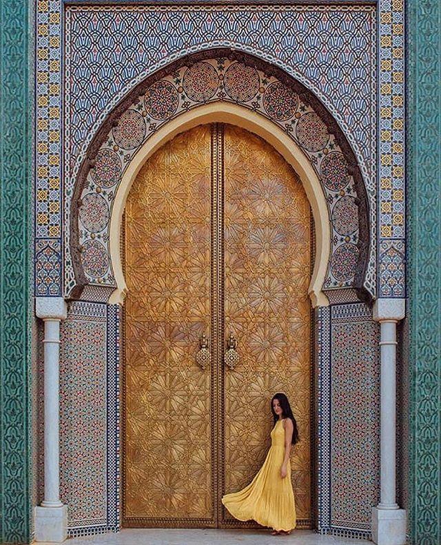 Doors of #Fez #Morocco #visitmorocco #visitmaghreb @nathalie_wanders