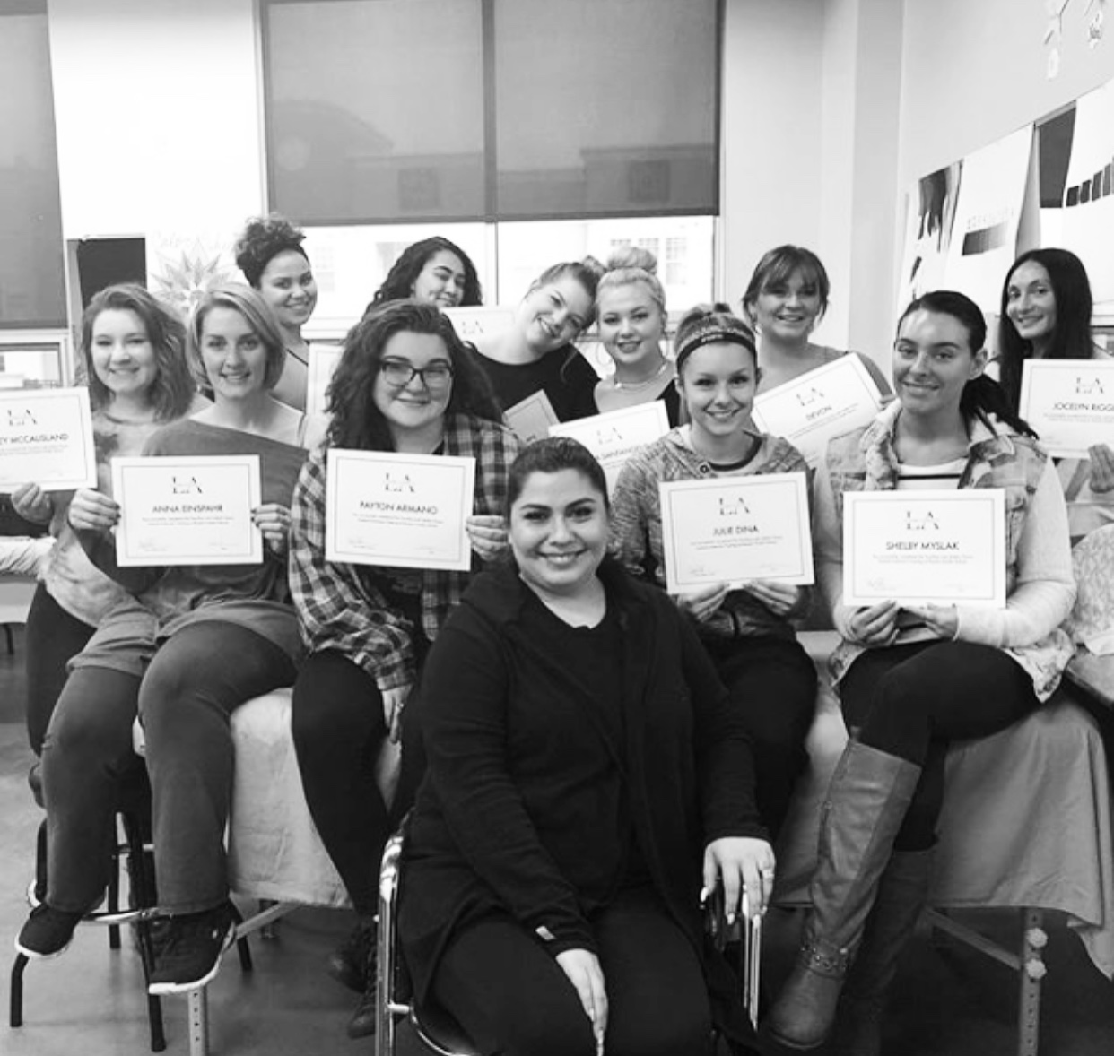 training at rizzieri aveda school