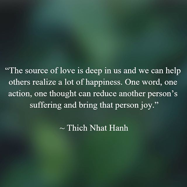 """""""The most precious gift we can offer others is our presence. When mindfulness embraces those we love, they will bloom like flowers."""" ~Thich Nhat Hanh"""