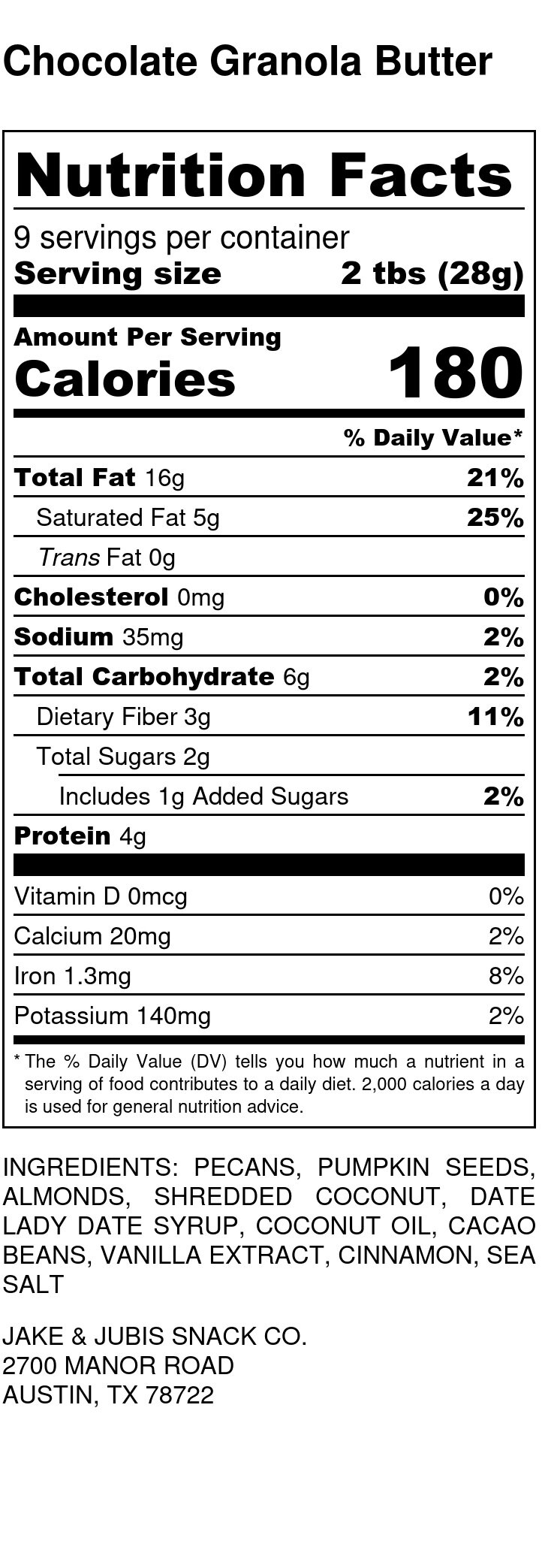 Chocolate Granola Butter - Nutrition Label.jpg