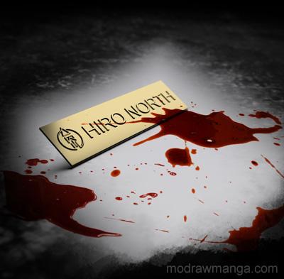Blood splatter purchased from photobash.org