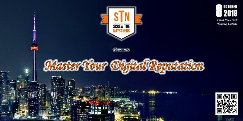 Will you be in the Toronto area on October 8th? We'd love to have you join us for Master Your Digital Reputation, an interactive panel discussion. See all the details  HERE .