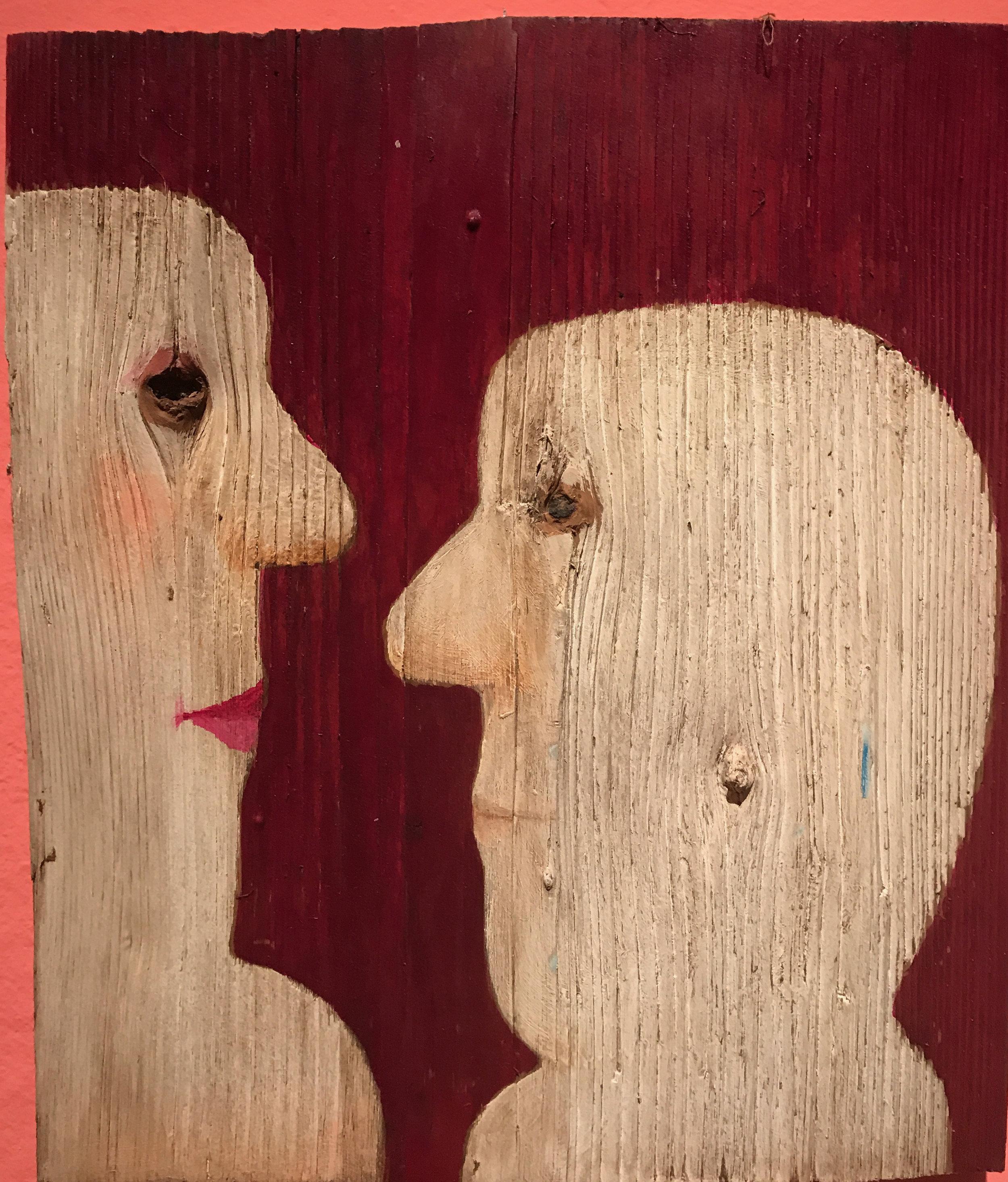 acrylic on wood, Vasko Lipovac