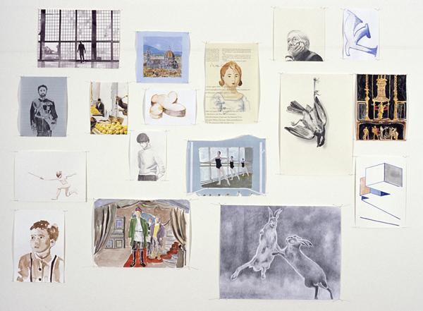 Giles Eldridge, works on paper