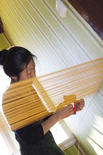 Beili Liu (China/USA), site-specific installation