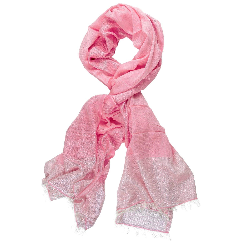 pink cotton scarf online