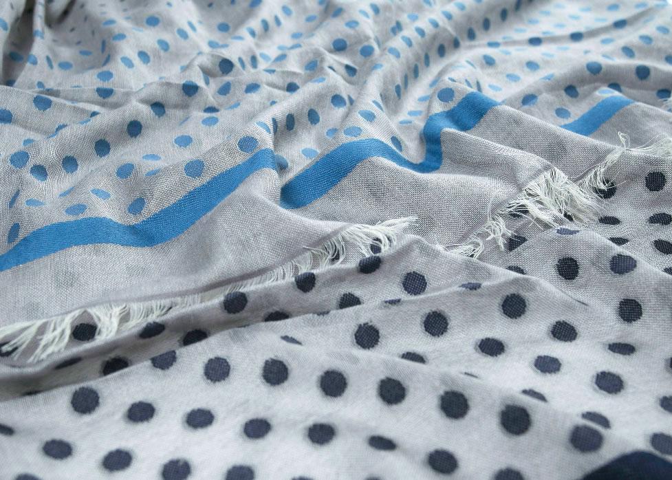 GreyBluePolkaDotCottonScarf1.jpg