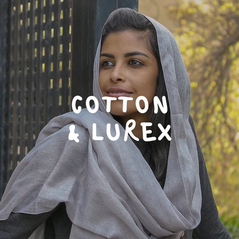 buy lurex scarf