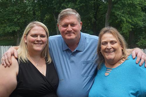 Kelli, Willis, and Brenda Hogg