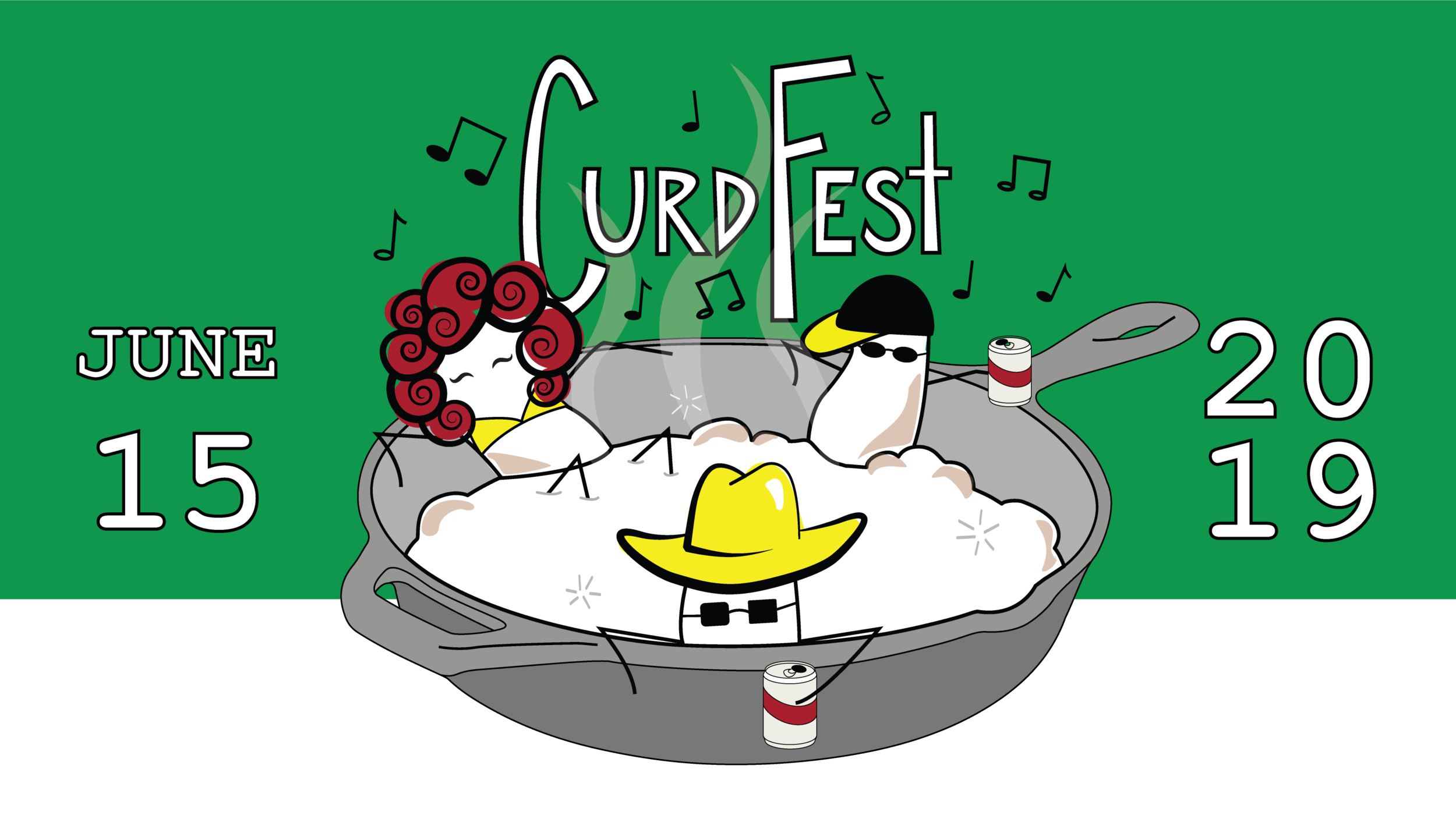 We will be hosting our second annual Curd Fest this summer on Saturday, June 15th from 11-4 pm, where we will be celebrating all things cheese curds! We'll be serving curds in all of their glorious forms, including fresh, fried, squeaky, melty, flavored, and on-a-stick.  *Tickets sold at event. Entry price is $5 for ages 12+. Free entry for those under 12-years-old. Admission includes live music, vendor samples and self-guided farm tours.    Event will be held rain or shine!    We also have several amazing guests joining us for entertainment and food sampling. Here are our confirmed vendors!  Live music by Jack Winders  Live music by Bernie King and the Guilty Pleasures  Beer sampling by Third Street Brewhouse  Lucky's Popcorn Dressing  Wild Wille's Sandwich Shack  Minnewaska House  Spruce Soda  Milk & Honey Ciders  Ferndale Market  The Starkeller Brewery  The Weekend Project: Feeding Young Minds  Otte's Old Fashion Kettle Korn        If you're traveling a long distance and need a place to spend the night, we recommend the AmericInn in Sauk Centre, located just 20 minutes from Redhead Creamery.     *Tickets sold at event. Entry price is $5 for ages 12+. Free entry for those under 12-years-old.