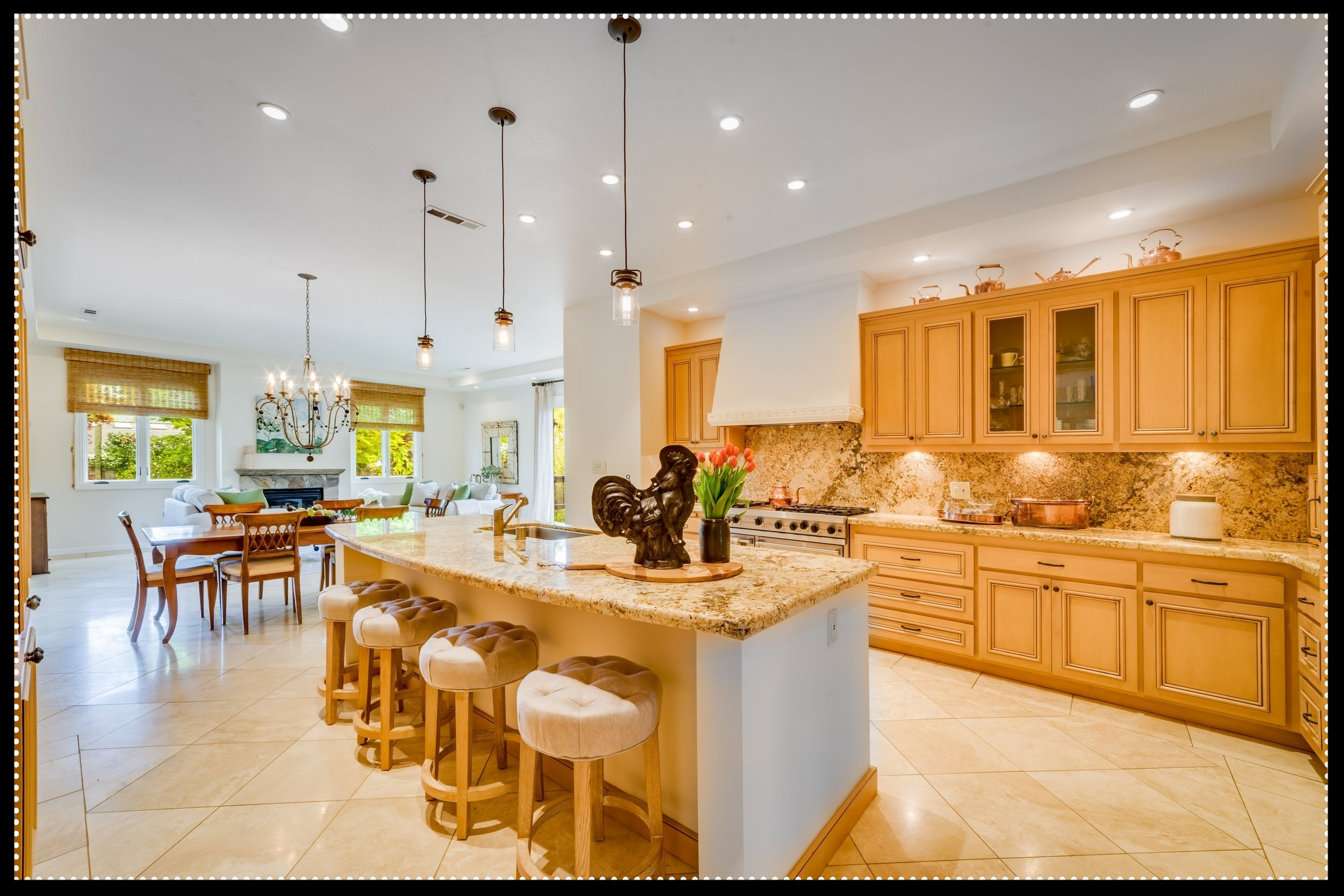 Well-equipped Chef's Kitchen