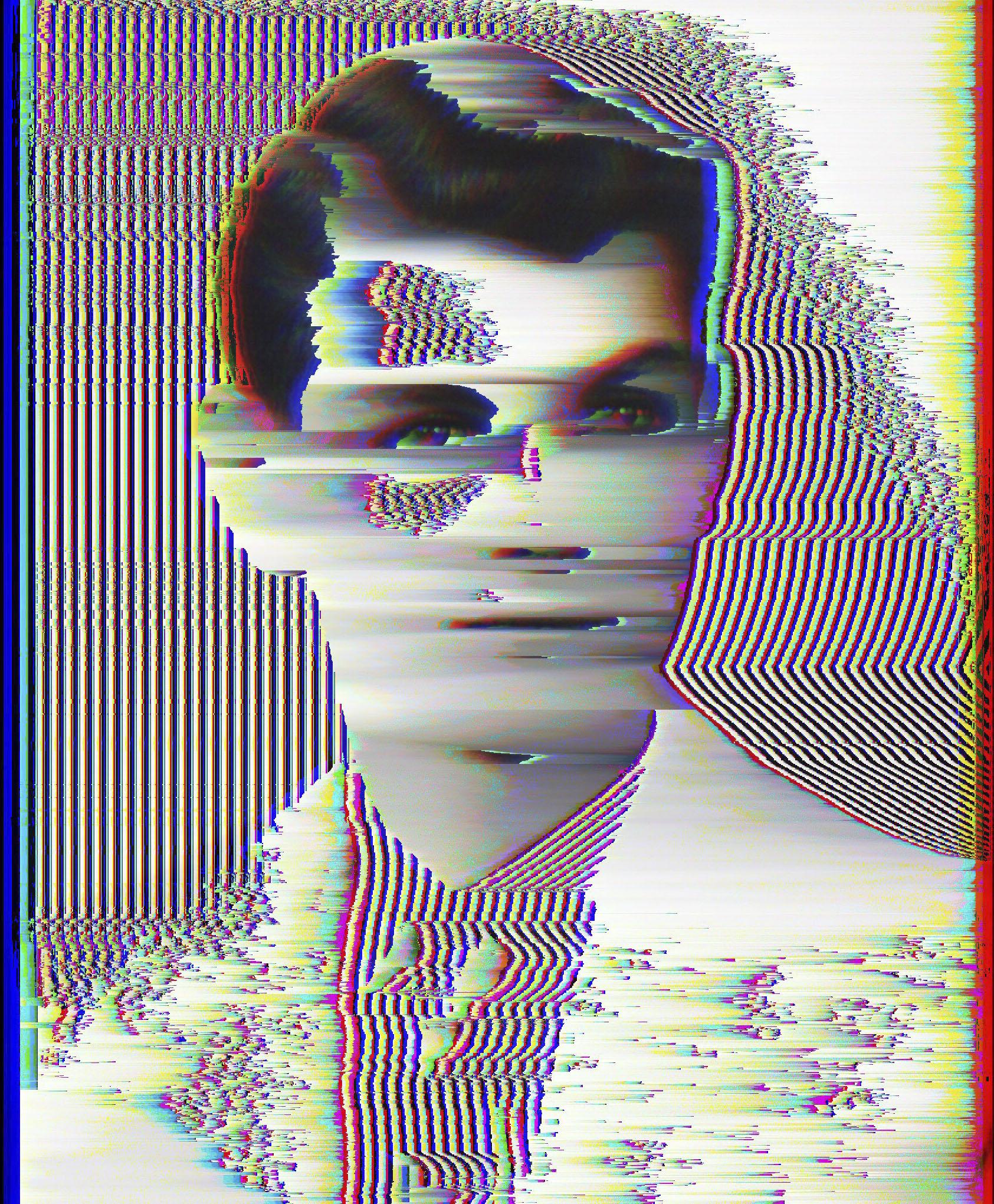 Digital Disintegration    2016  Digitally manipulated image.  Dimensions variable.