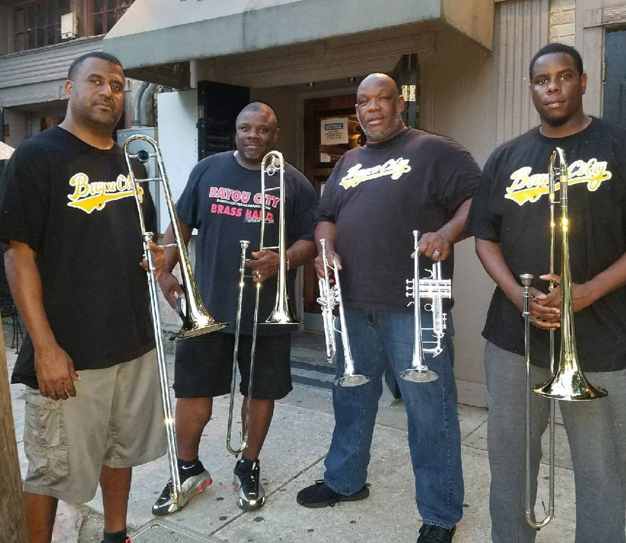 Bayou City Brass Band Members.JPG