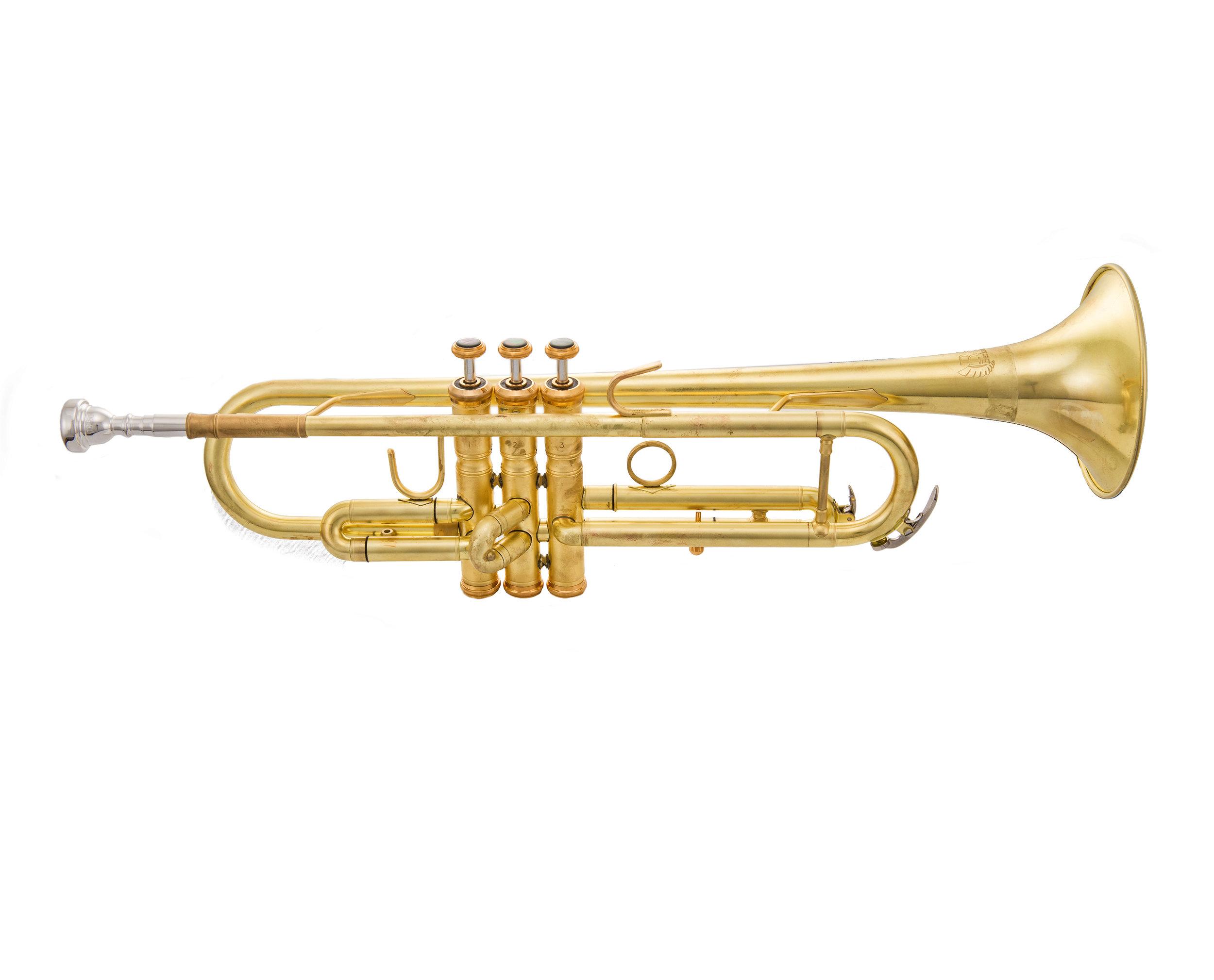 Pro Lightweight Unlacquered Trumpet TP612N.jpg
