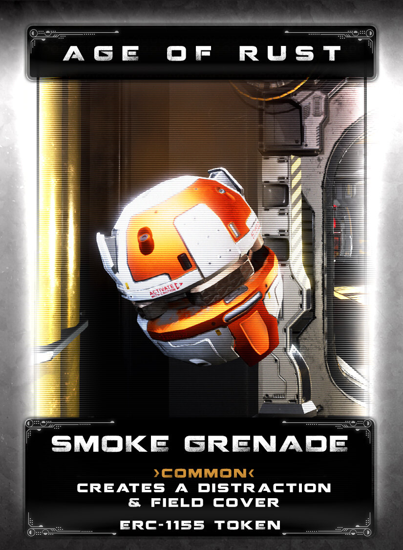 Smoke Grenade - A black market item that creates a distraction or can provide cover.