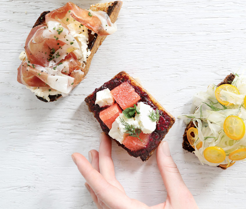 5280 | Best Bites: Call's Tartines - This four-month-old RiNo restaurant's open-faced sandwiches are the toast of the town.