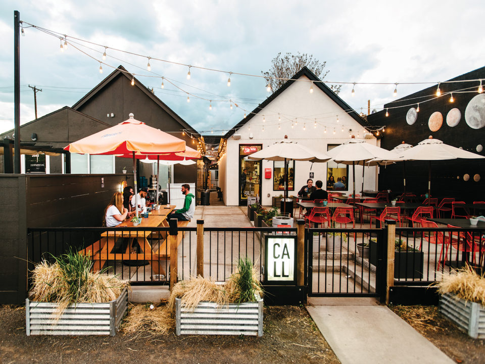 5280 | Restaurant Review: Call and Beckon - These two, side-by-side tiny house restaurants in RiNo fit well together, signaling an exciting Scandinavian phase for Denver's dining scene.