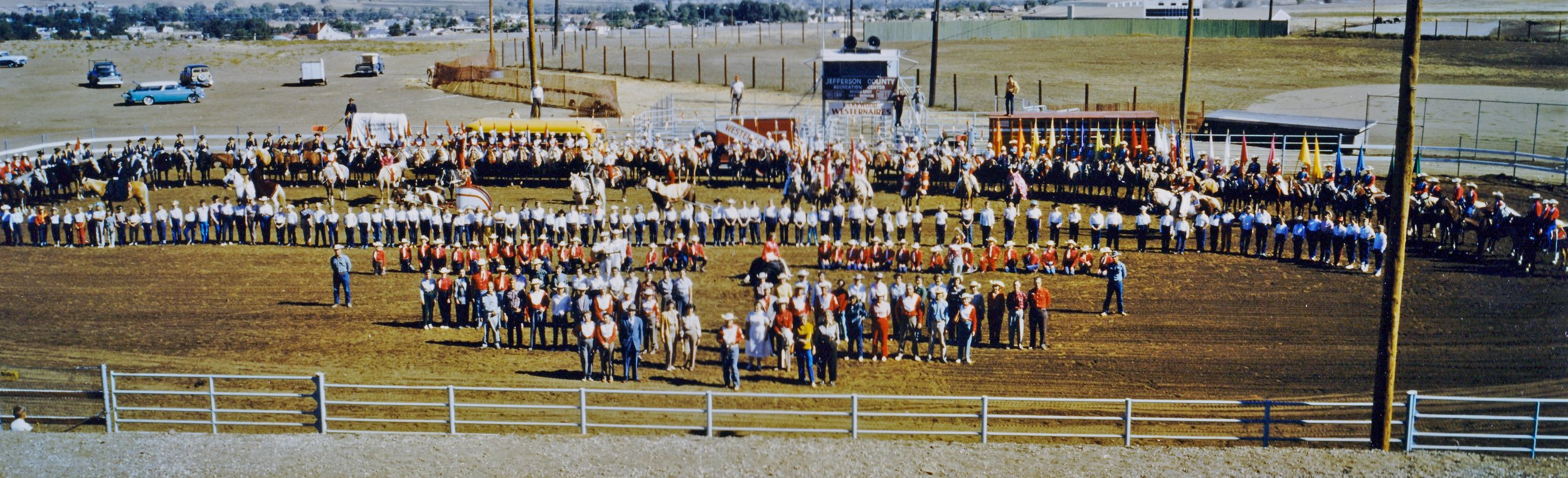 westernaires - 10th Anniversary picture -- 1958