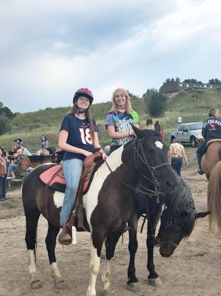 Alumni Krissy Schultz (left) and Trina Lemley (right) at Alumni Week 2017