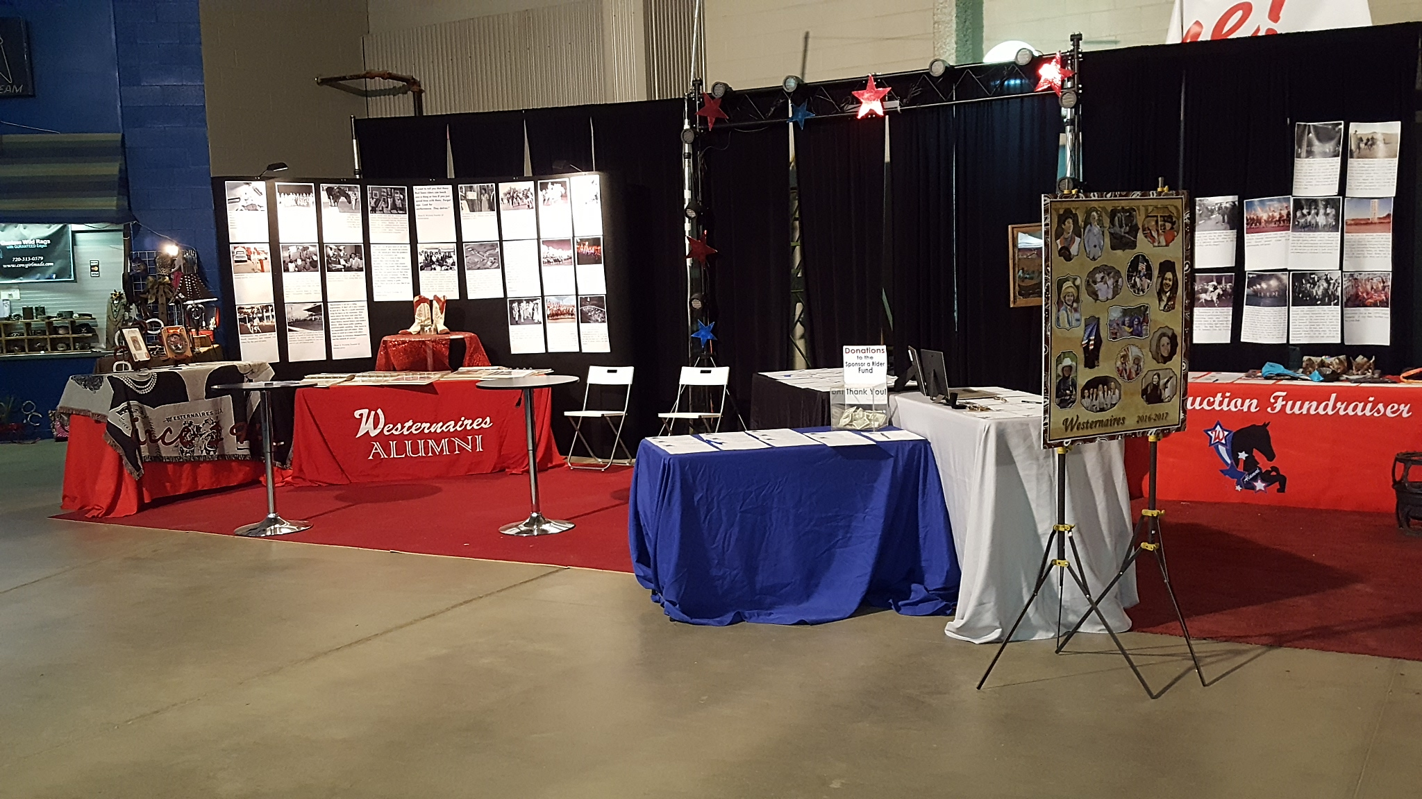 """Visit the Westernaires Alumni Association booth on the midway at Westernaires Annual Show """"Horsecapades"""""""