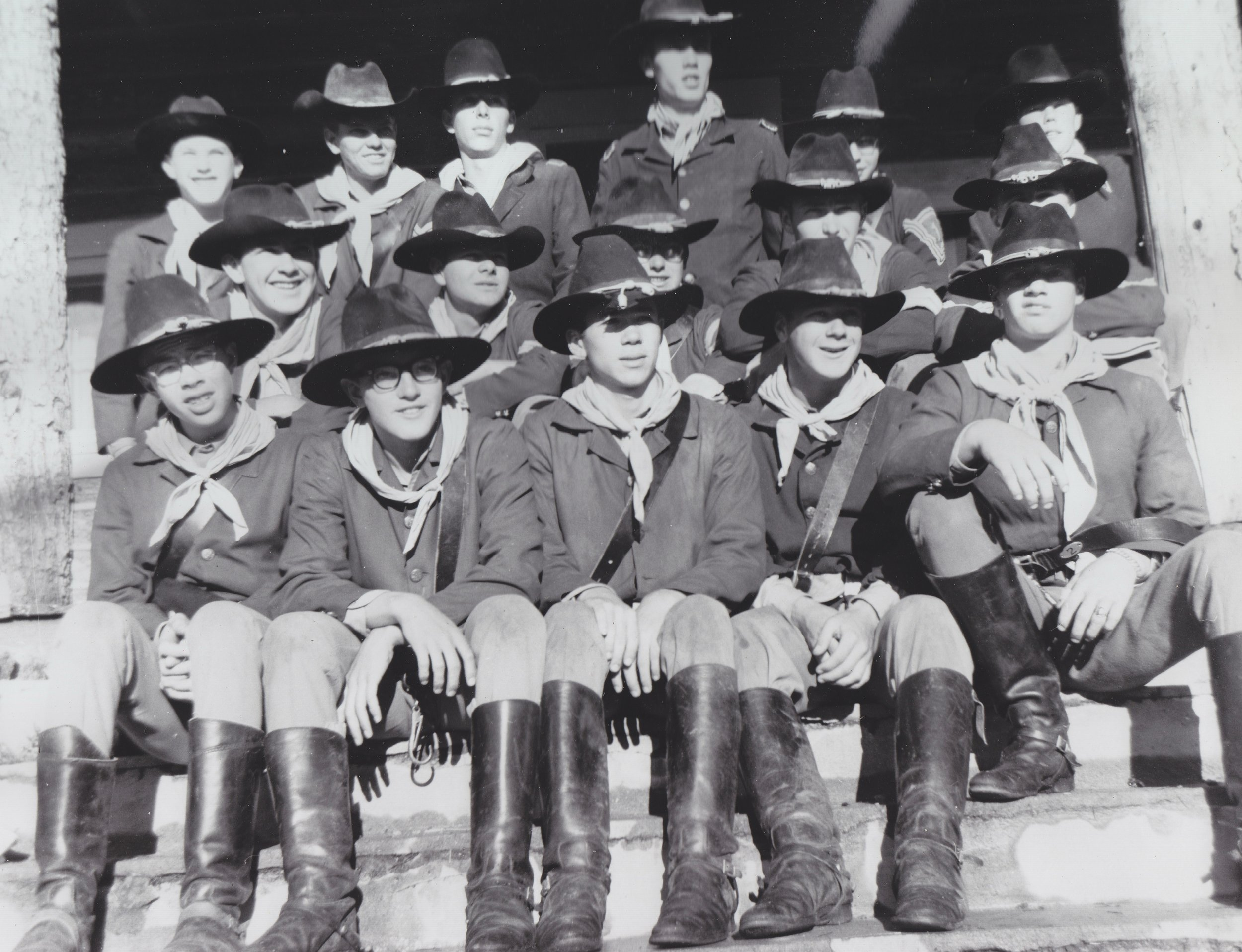 The Westernaires Cavalry team of 1965 credited as cast of the movie  Stagecoach  (1966)