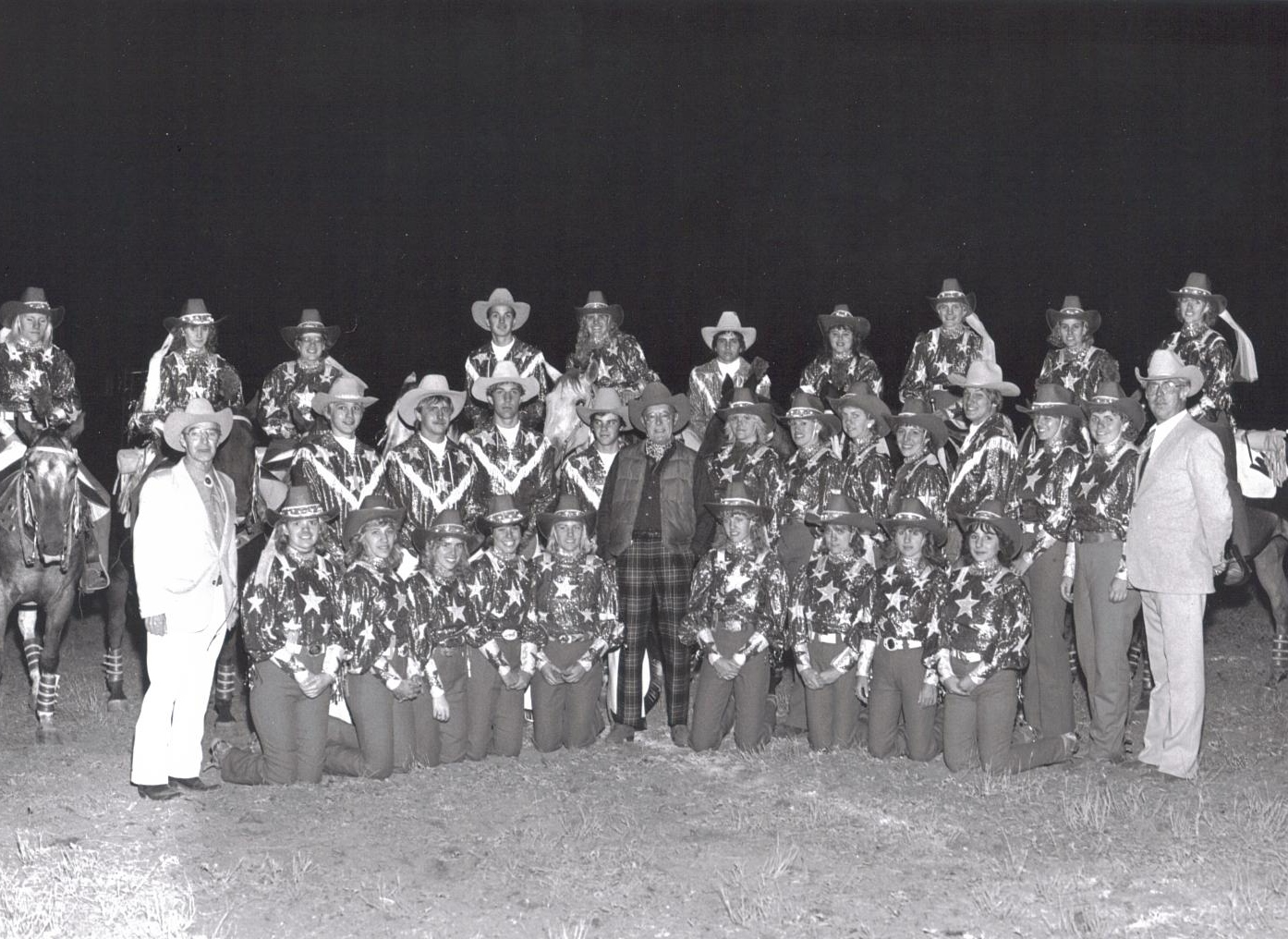 The Varsity Big Red Team with Crown Prince Bernard of the Netherlands, September 14, 1985.