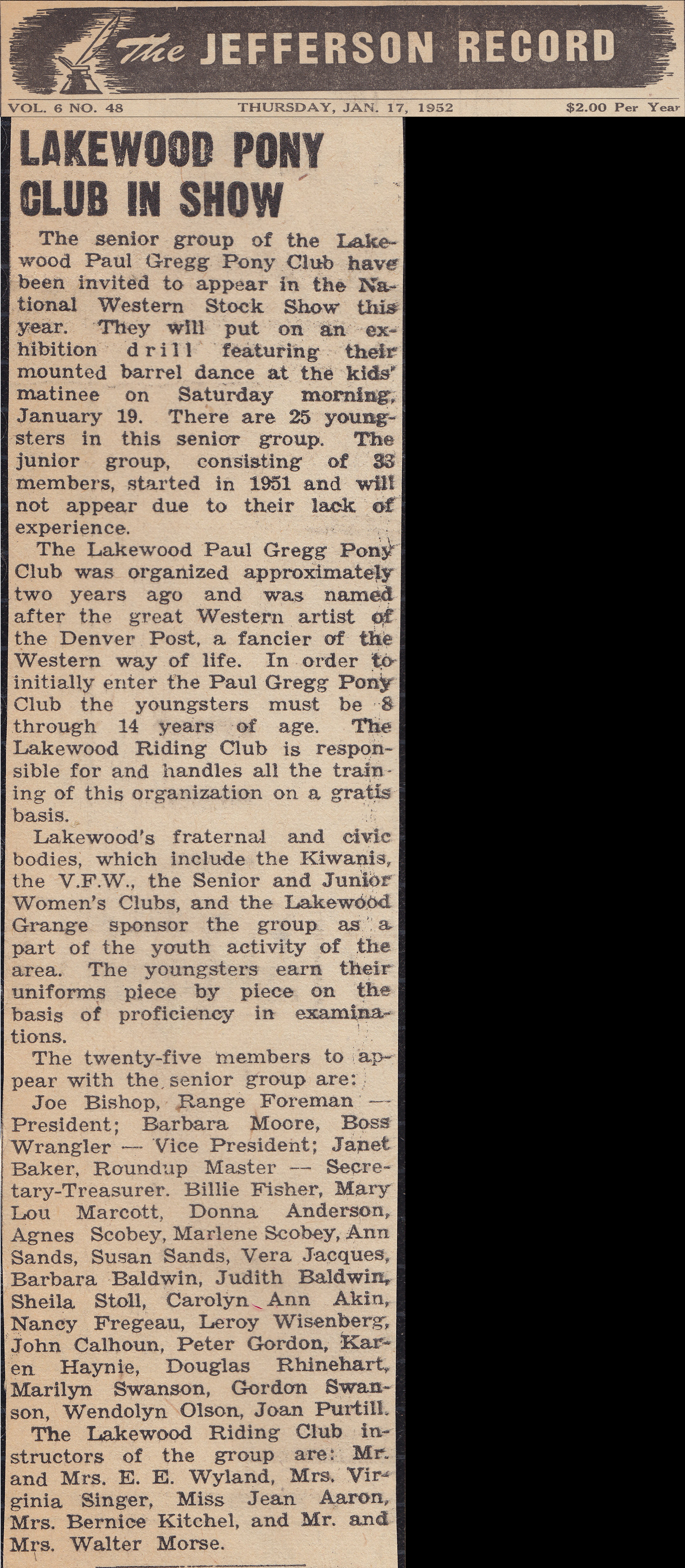 1952 Nat West Article in Jefferson Record newspaper.jpg