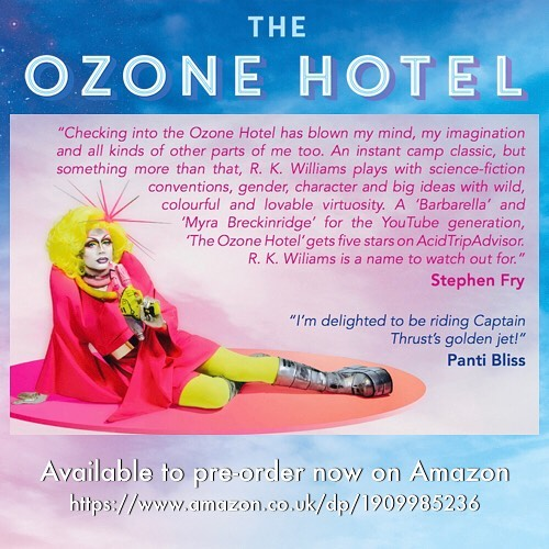 This is what Stephen Fry is saying about #TheOzoneHotel #scifi #fashion #fiction #adventure #fantasy #lgbt #drag https://www.amazon.co.uk/dp/1909985236