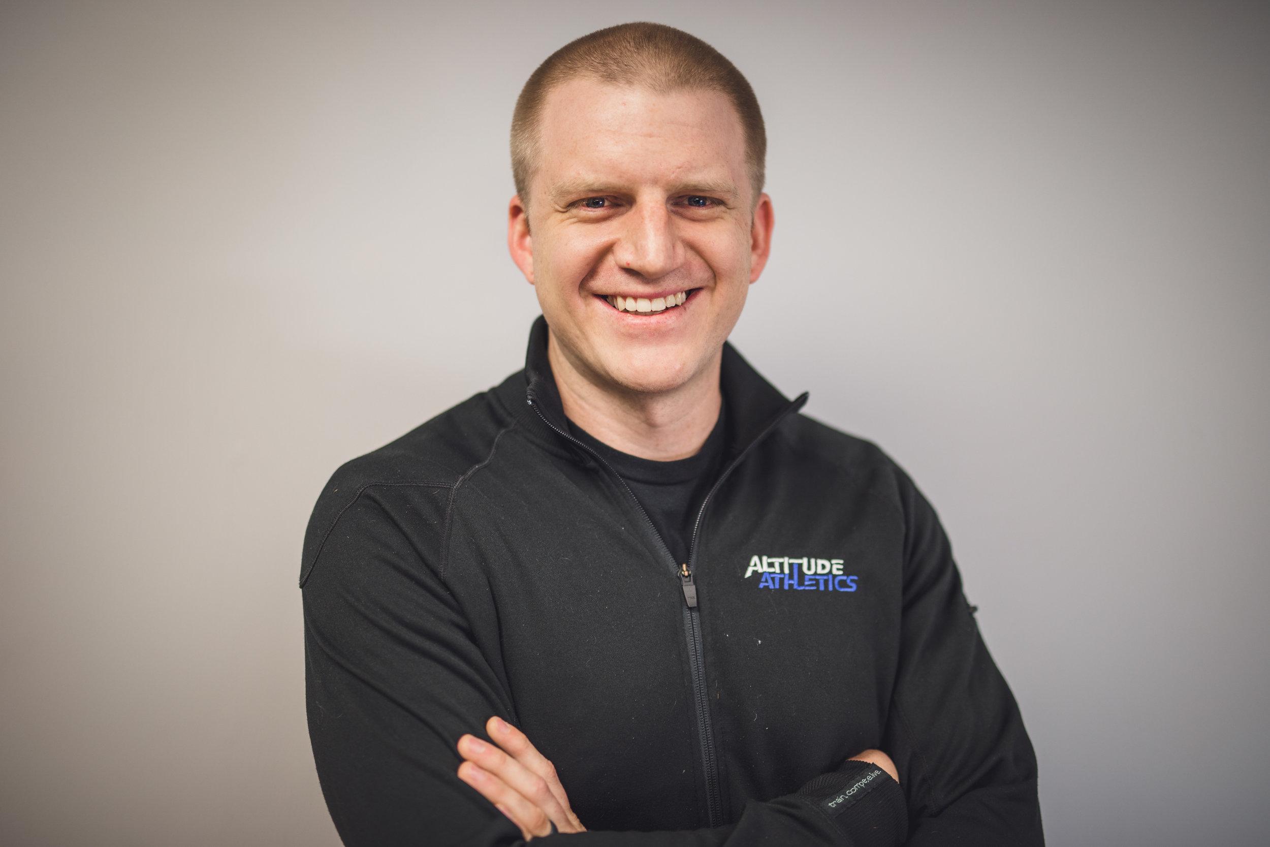 Stephen Pedersen   CrossFit Coach