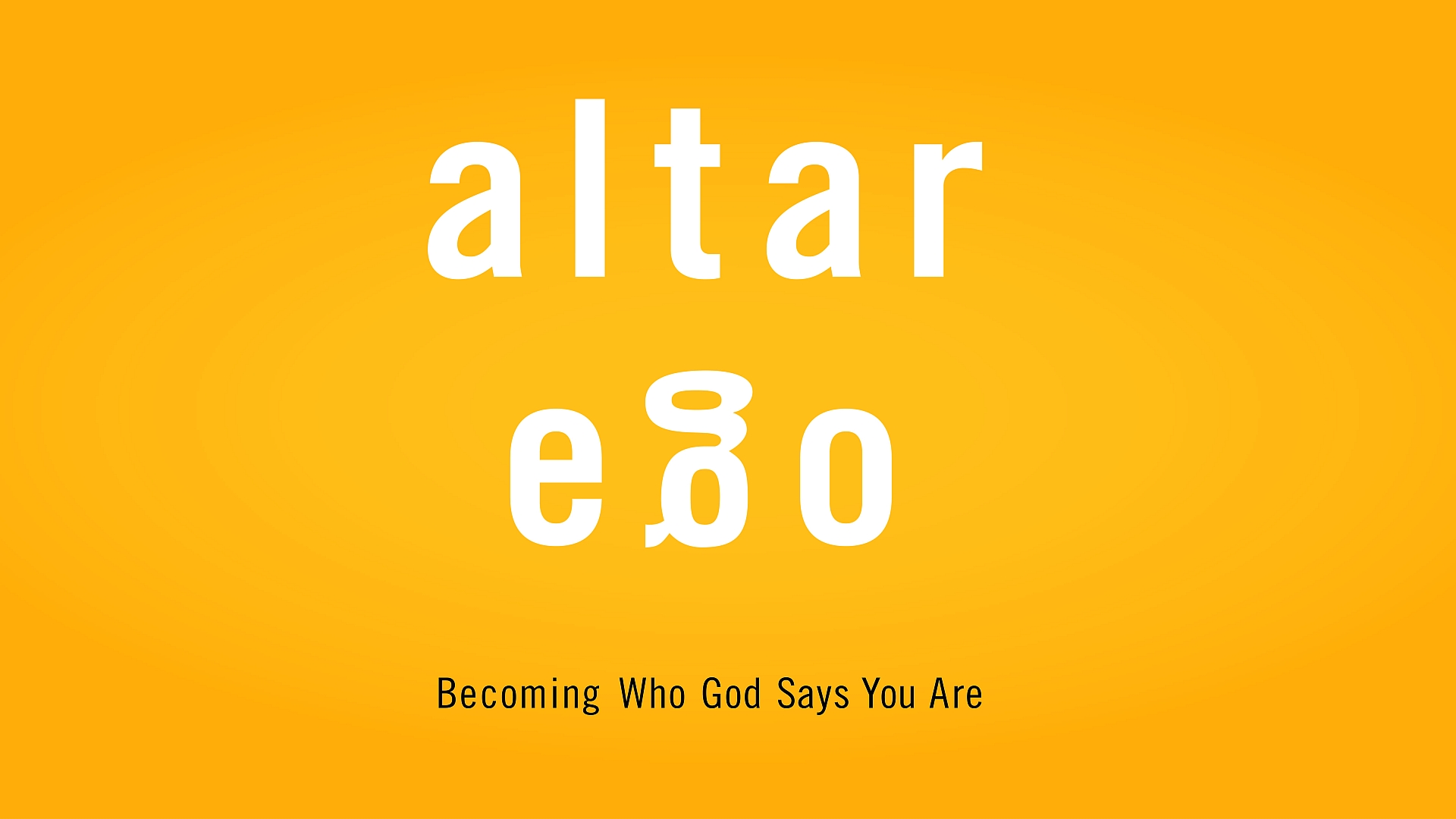- Altar Ego 4: Longing for ApprovalMarch 3, 2019Speaker: Aaron Laramore