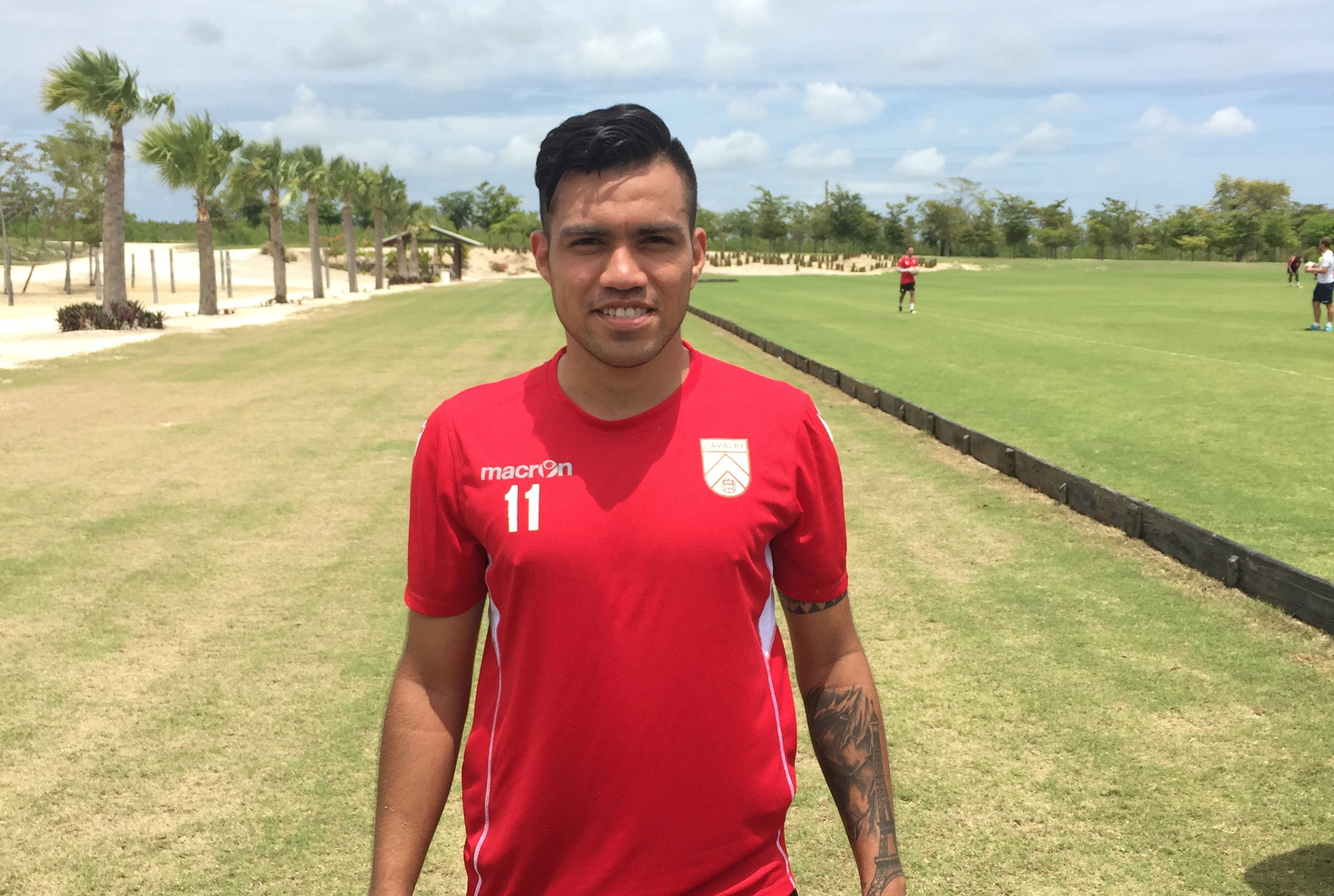 José Escalante of the Cavalry FC