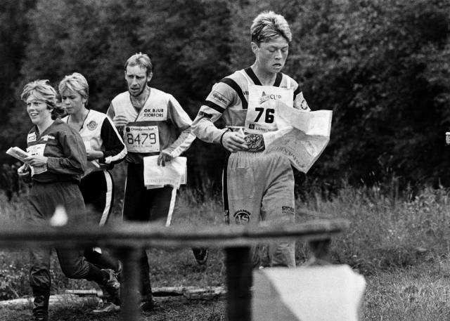 Swedish runners Orienteering in the 1960s