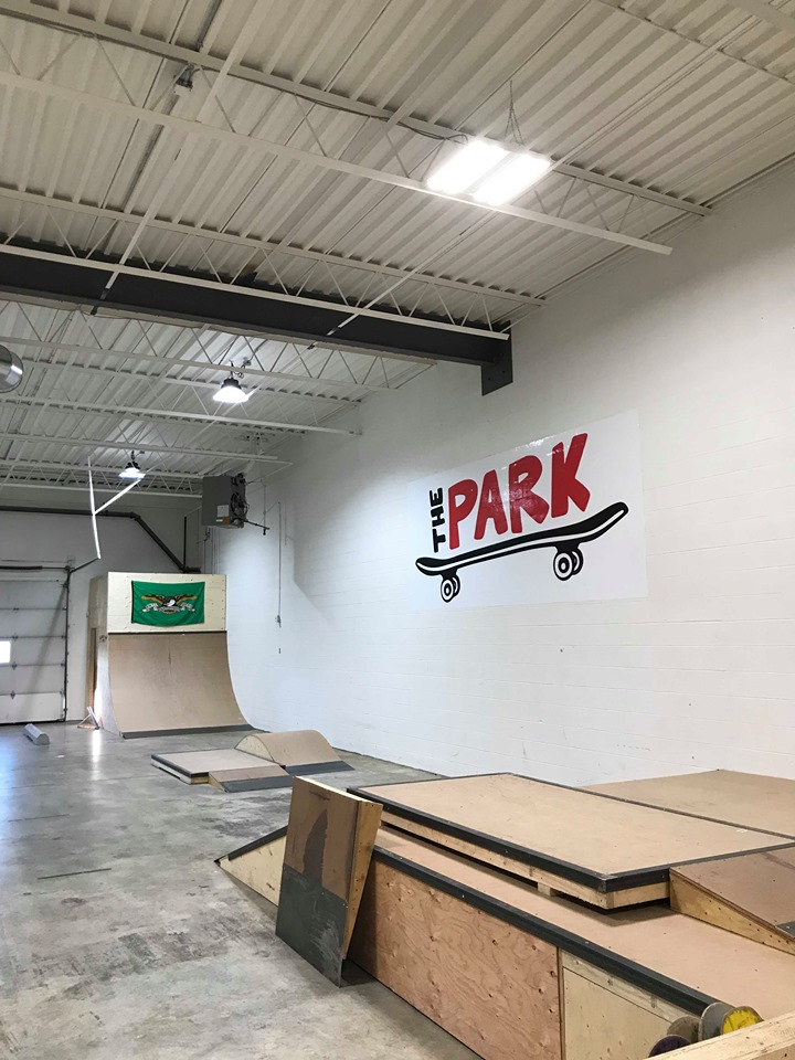 The New Park facility by Youth Brigade located in SE Calgary