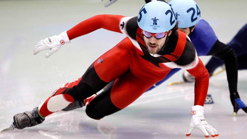 Canadian Short Track Speed Skater Charles Hamlin