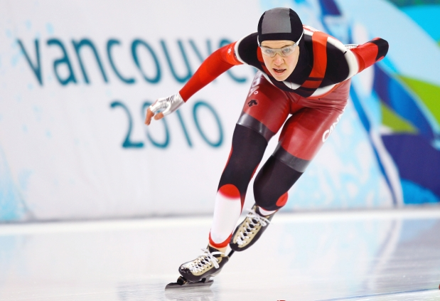 Long Track Canadian Speed Skater and Olympic Medalist, Clara Hughes