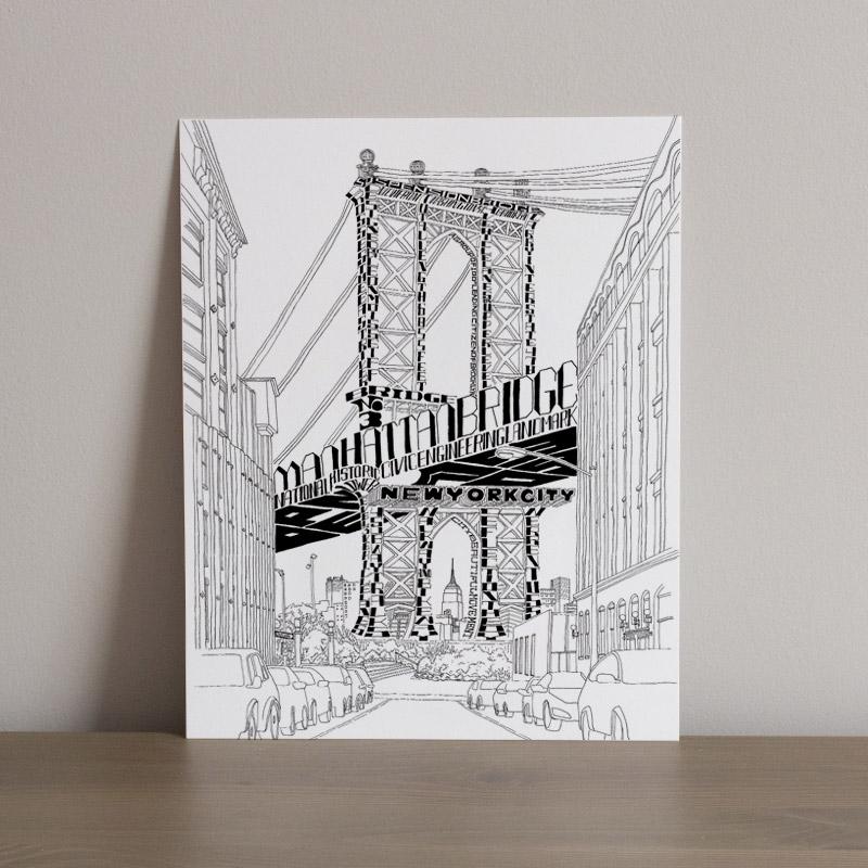 Architype_Manhattan_Bridge_Letterpress