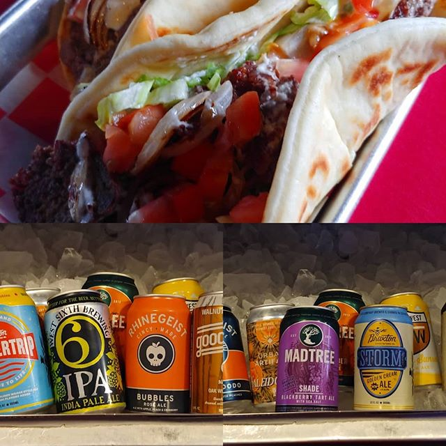 #gyros and #craftbeer this Thursday, get a great deal on our large selection of #craftcans and make your day better.  #nkyeats #lovethecov #cincyfood