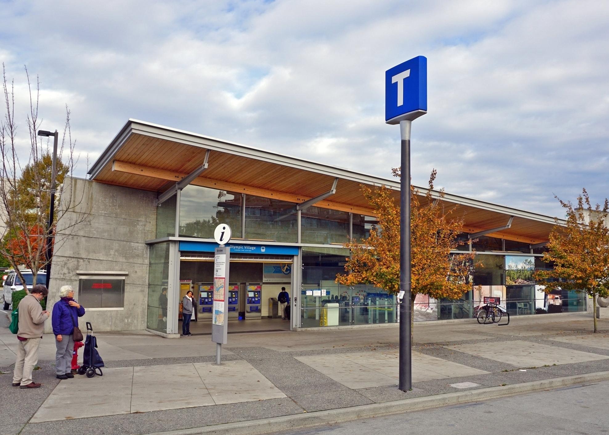 Olympic Village Skytrain Station -