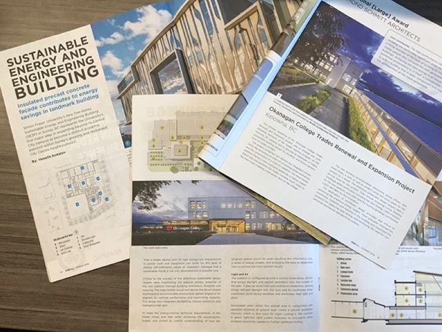 Happy #MediaMonday everyone! AES is thrilled to see two campus projects we've worked on featured in recent issues of #SABMag and @cagbc #BCFOCUS Spring 2019 issue. . We are proud to support post-secondary education through forward-thinking, sustainable building designs for the institutions that are educating the minds and leaders of tomorrow. . Congrats to @simonfraseru and @okanagancollegetrades for adding these world-class facilities to your institutions! . #DesigningABetterTomorrow #SABmag #CaGBC #AES #aesengr #Victoria #Vancouver #Edmonton #Calgary #EducatingTheFuture
