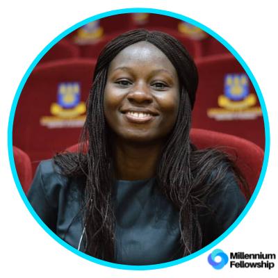 Yvonne Afi Ilupeju _, knust,      millennium,      sdg15,     ghana,      2019,      africa,