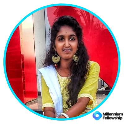 Raashmika Vivekanandan _, psgcas,      millennium,      sdg2,     iindia,      2019,      asia,